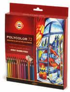 Koh i noor Polycolor Kredki 72kol+3 olówki karton