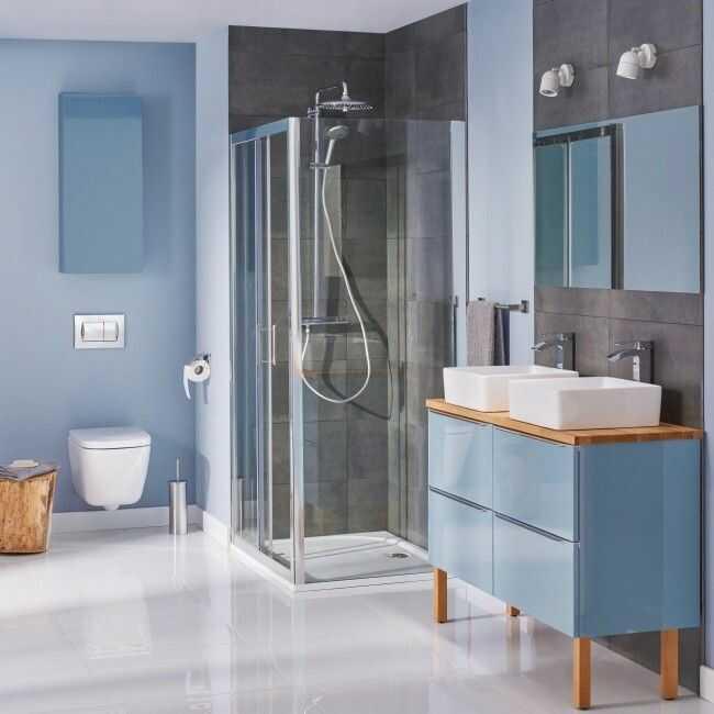 Kolumna prysznicowa Grohe Vitalio Joy śr. 26 cm z baterią termostatyczną