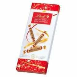 Paluszki z czekolady deserowej z płynnym nadzieniem Lindt 125g
