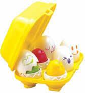 Tomy - Piszczące jajeczka T1581