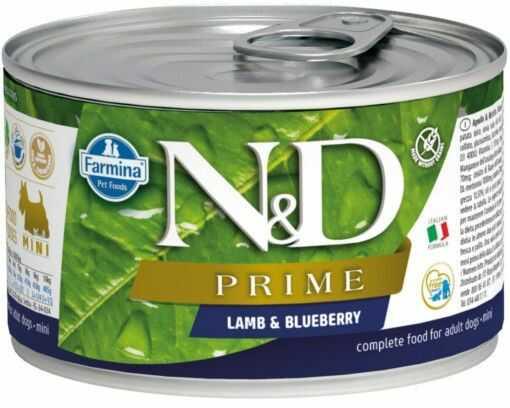 N&D LAMB & BLUEBERRY Adult Dog