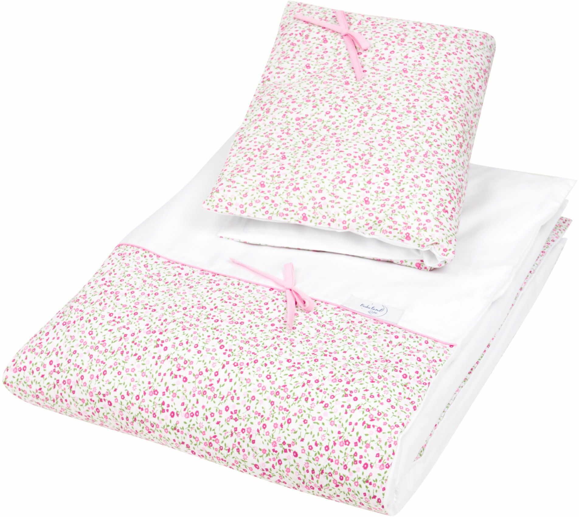 Pościel do łóżeczka, bawełna, satyna 2 el. łączka