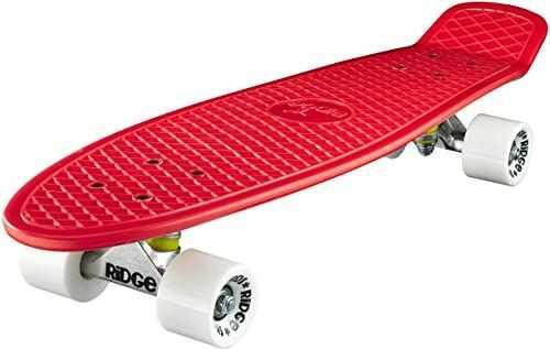 Ridge Deskorolka Big Brother nikiel 69 cm Mini Cruiser, czerwony/biały