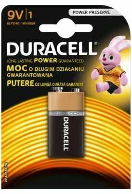 Bateria alkaliczna DURACELL 6LR61/9V. > DARMOWA DOSTAWA ODBIÓR W 29 MIN DOGODNE RATY