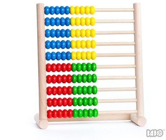Liczydło (100), 38610-Bajo - zabawki edukacyjne
