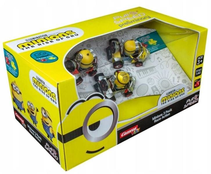 Carrera Pull&Speed Minions 3 Pack Race Action