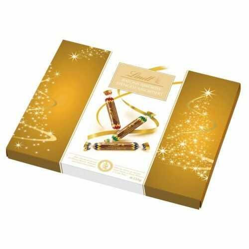 Paluszki z czekolady deserowej z płynnymi nadzieniami alkoholowymi Lindt 250g