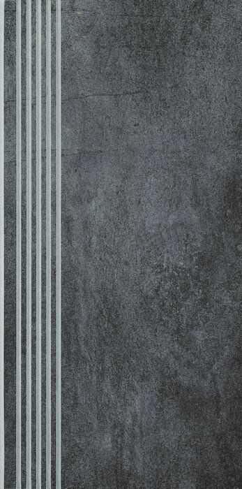 TARANTO GRAFIT stopnica nacinana 29,8x59,8