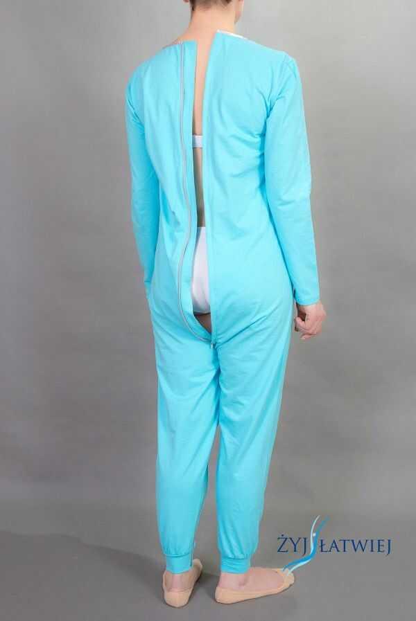 Piżama jednoczęściowa-jersey