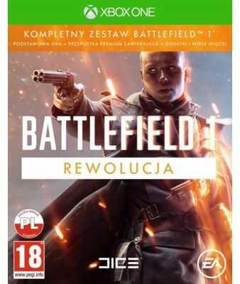 Gra Xbox One Battlefield 1 Rewolucja