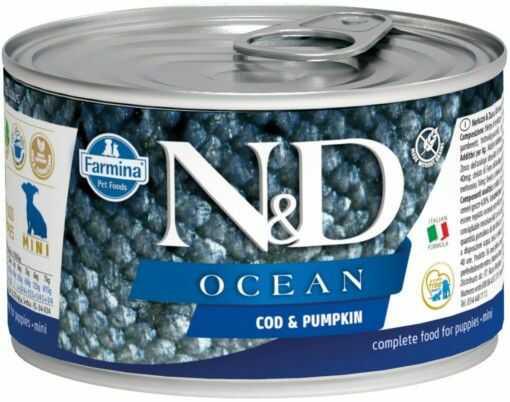 N&D OCEAN CODEFISH & PUMPKIN Puppy
