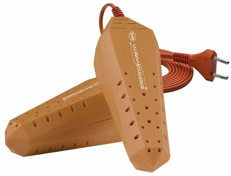 Suszarka do butów Elektrowarm SB-6 jasny brąz UV