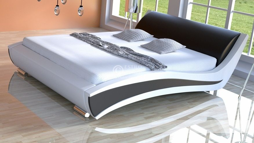 Łóżko do sypialni Samba - tkanina
