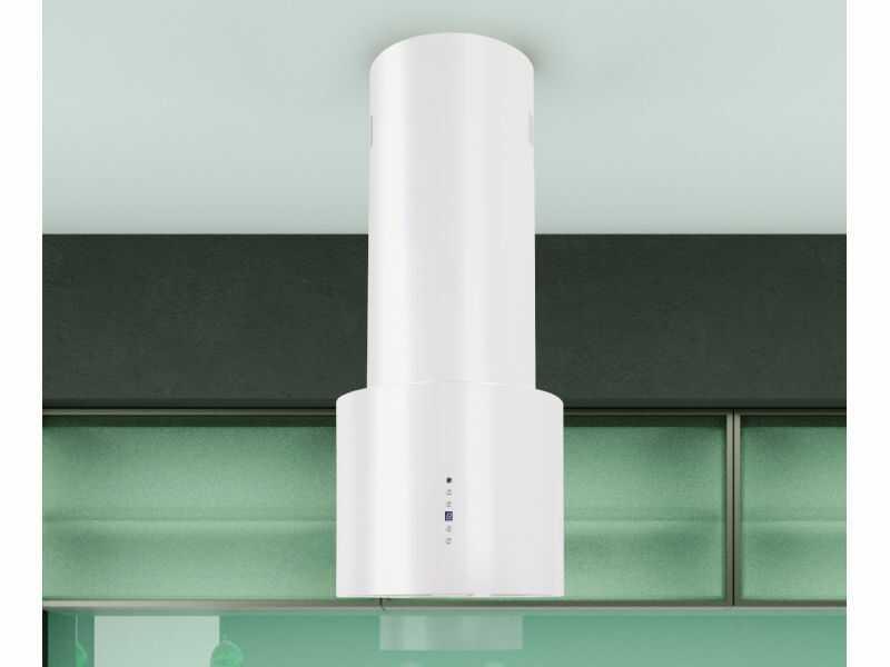 Okap wyspowy Lorento White 40 cm