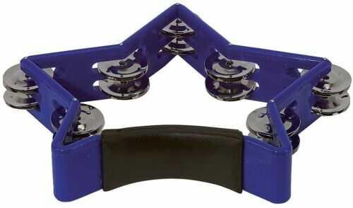 Gewa 841556 tamburyn gwiazda (niebieski), instrument perkusyjny