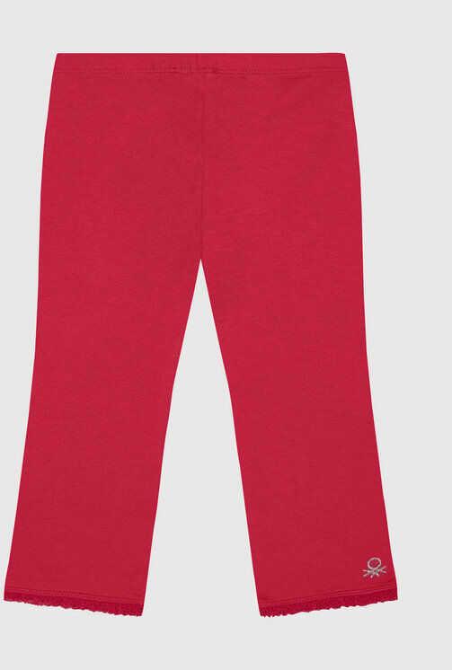 Legginsy 3MT1I0820 Różowy Slim Fit