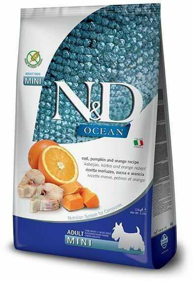 N&D Ocean Codfish, Pumpkin & Orange Adult Mini Dog