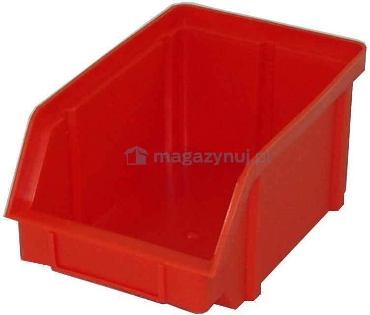 Pojemnik warsztatowy z polipropylenu standardowego, wym. 314 x 202 x 148 mm (Kolor czerwony)