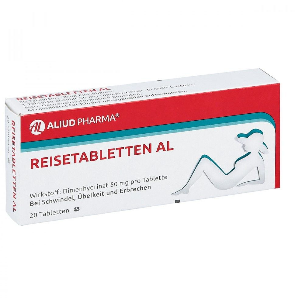 Reisetabletten Al tabletki