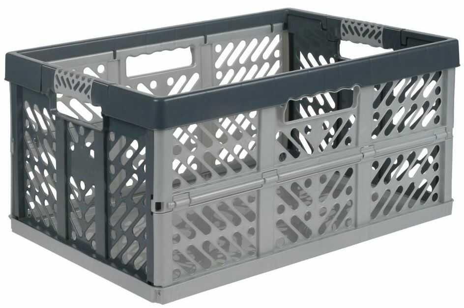Kosz składany Klapbox 45 l 54 x 28 x 37 cm Spaceo