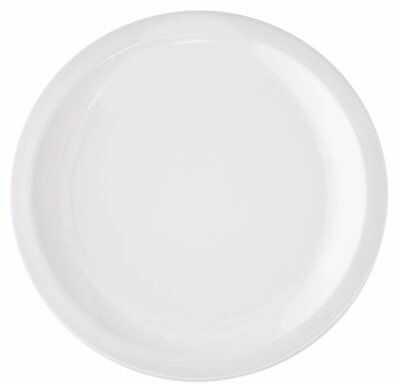 Talerz śniadaniowy DUKA ASPEN 22 cm biały porcelana