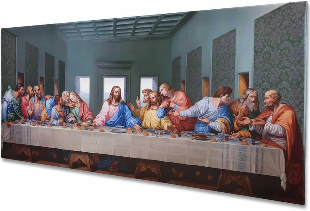 Ostatnia Wieczerza, obraz religijny HD na płótnie