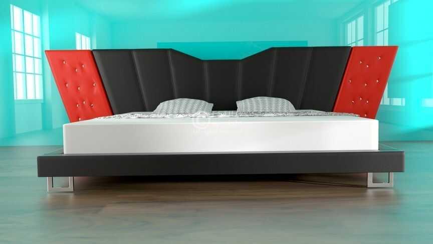 Łóżko do sypialni EFEZ - tkanina