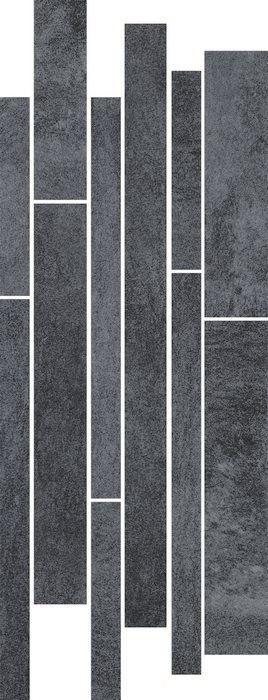 TARANTO GRAFIT listwa mix paski 20x52