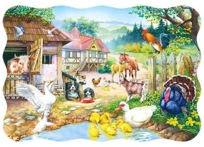 Puzzle Castor 30 - Zagroda, Farm