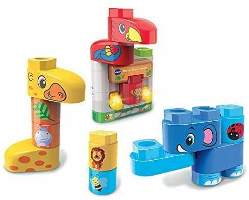VTech Bla Block 3480-604622 elektroniczna budowa, zabawne zwierzęta, kolor