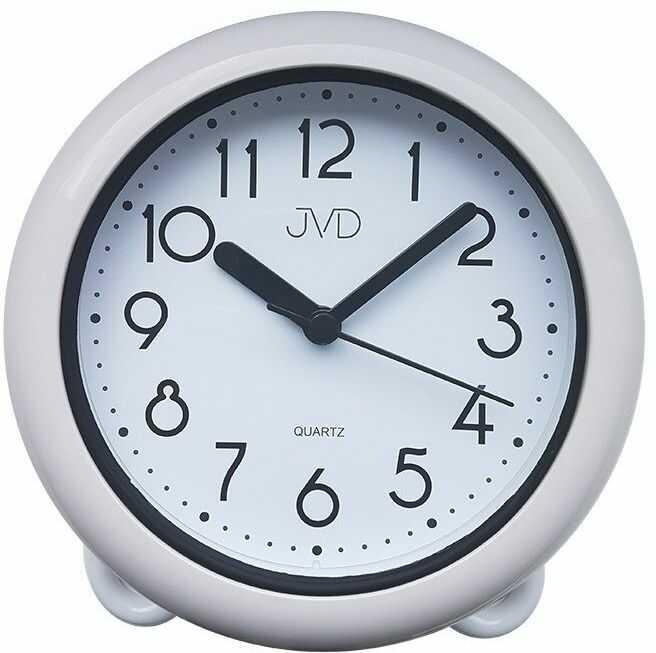 Zegar ścienny stojący JVD SH018 Łazienkowy Wodoszczelny