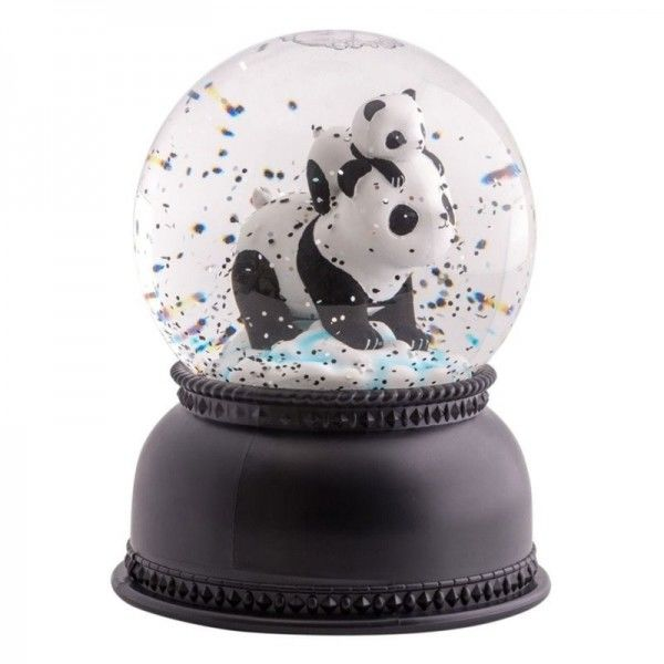 A Little Lovely Company - Świecąca Kula Śnieżna Pandy