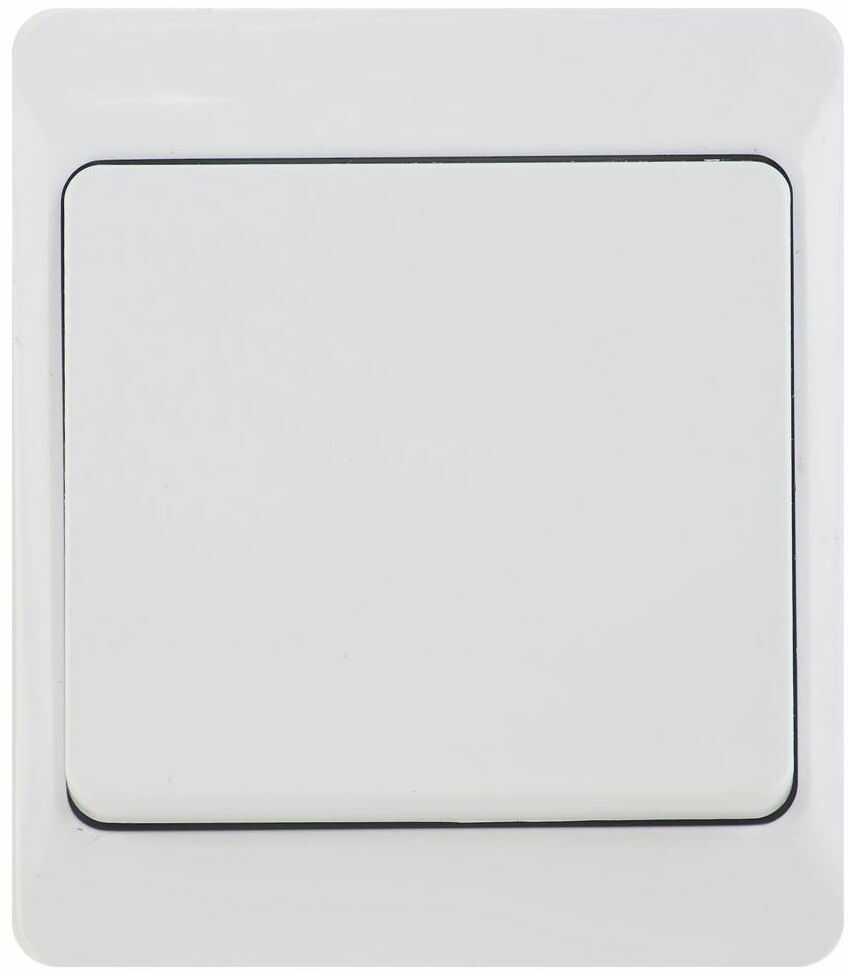 Włącznik schodowy HERMES Biały ELEKTRO-PLAST
