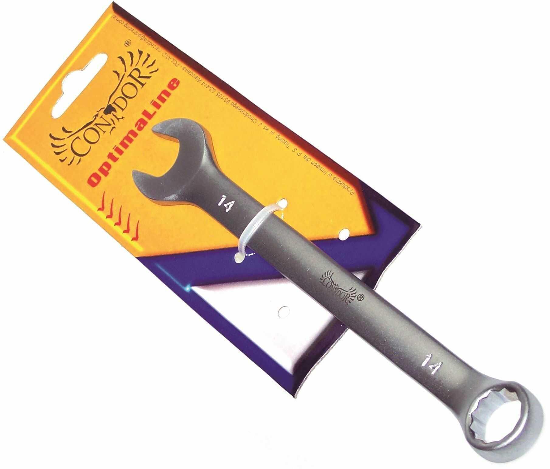 Klucz płasko-oczkowy CV 11mm