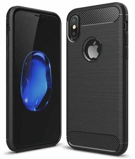 Etui Rug Carbon do Apple iPhone X