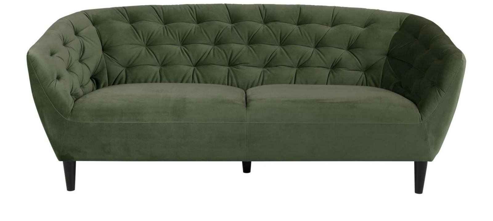 Sofa 3osobowa Ria Velvet forest green
