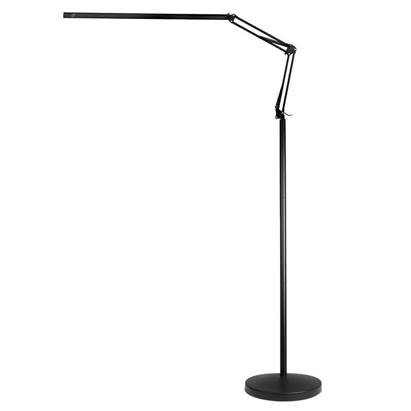 LAMPA ZABIEGOWA LED ALL4LIGHT LASHES LINE 2 CZARNA ZE STATYWEM