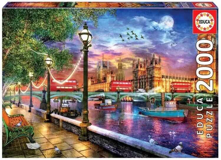 Puzzle 2000 Londyn, Dominic Davison G3 - Educa