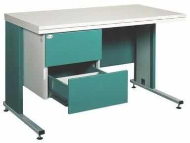 Metalowe biurko BIM 212S na kartoteki medyczne
