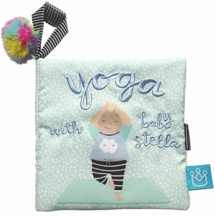 Książeczka interaktywna Baby Yoga 156340-Manhattan Toy, zabawki dla niemowląt