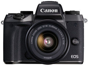 Canon EOS M5 +EF-M 15-45mm STM Czarny