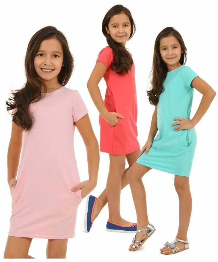 Sukienka tuba dla dziewczynki 116 - 158 KRP09 Cztery kolory
