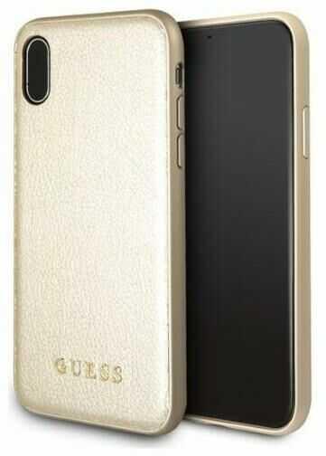Guess GUHCPXIGLGO iPhone X (złoty)