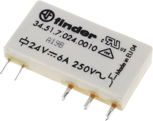 Przekaźnik Finder 34.51.7.024.0310 Przekaźnik Finder 34.51.7.024.0310