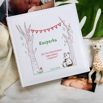 Dzieciństwo - Personalizowany Album na zdjęcia