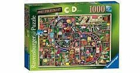Puzzle Ravensburger 1000 - Colin Thompson - Wspaniały alfabet C i D Awesome Alphabet C&D