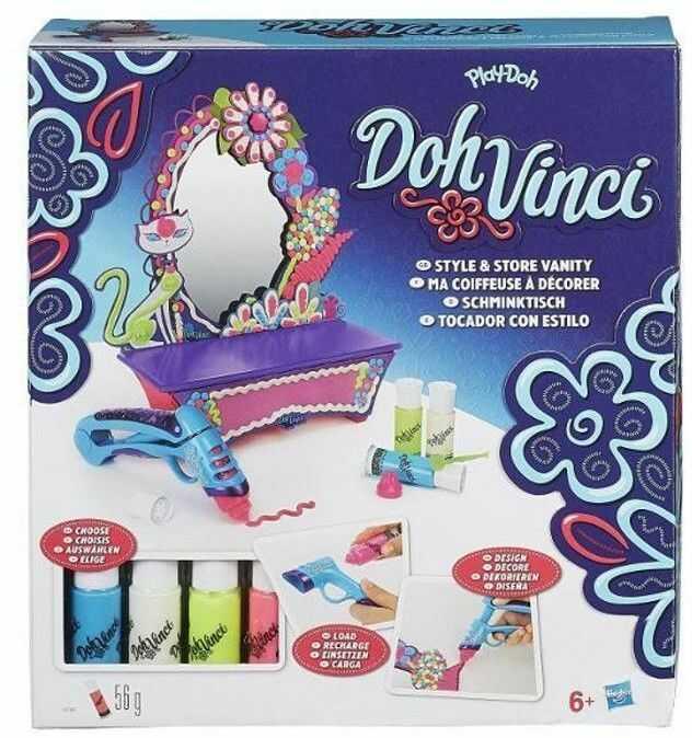 Hasbro Doh Vinci - Toaletka A7197