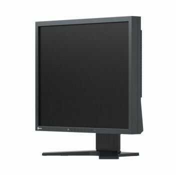"EIZO Monitor LCD 19"" S1934H-BK, IPS, LED backlight, HA stand, czarny. - Certyfikaty Rzetelna Firma i Adobe Gold Reseller"