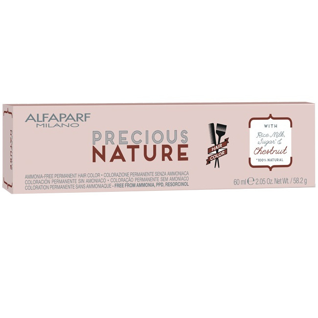Alfaparf Precious Nature naturalna farba do włosów bez amoniaku 60ml