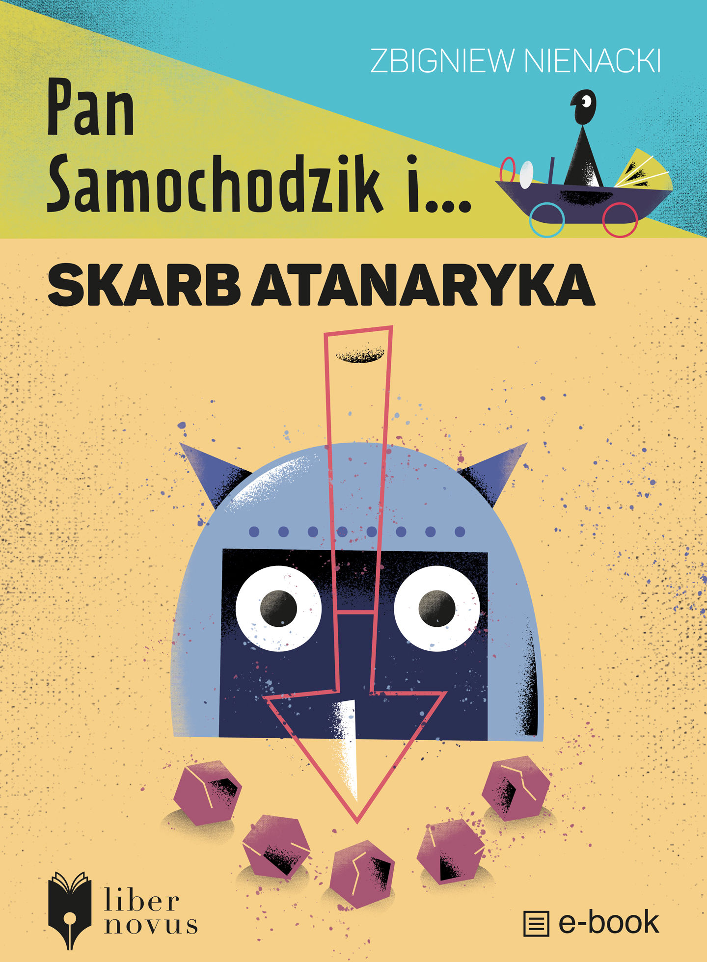 Pan Samochodzik i skarb Atanaryka - Zbigniew Nienacki - ebook